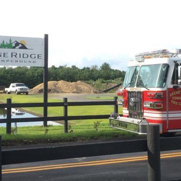 Pine Ridge Campground Hosts Fire Department